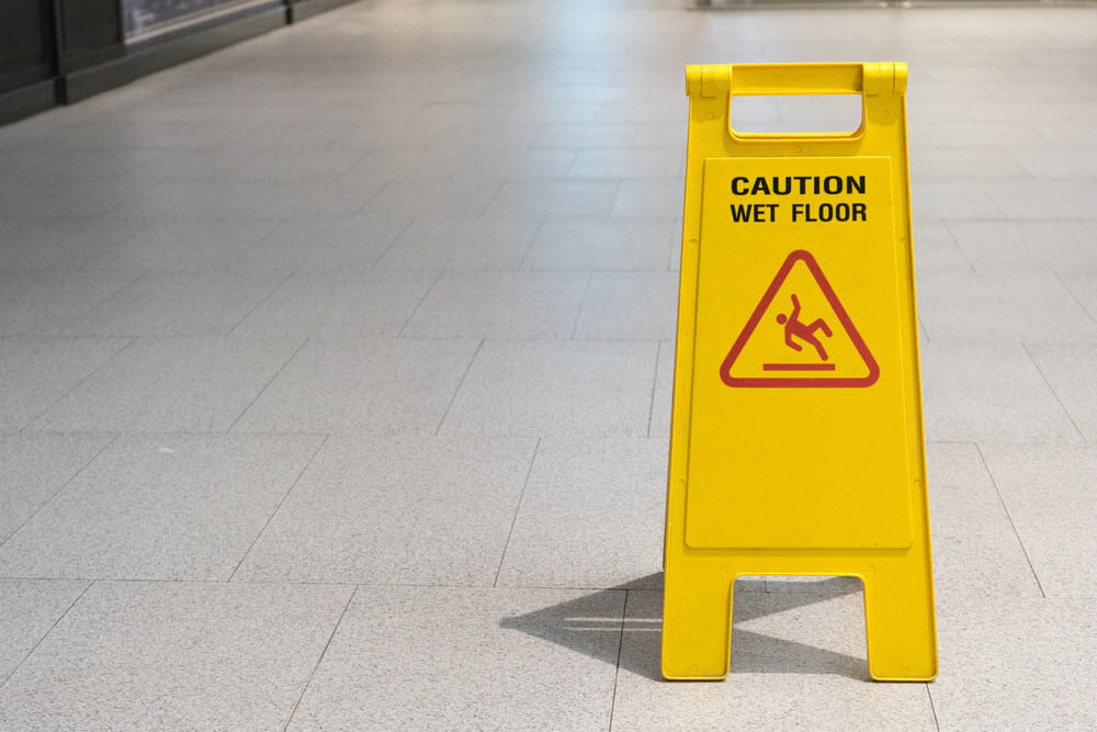 Injuries in Slip and Fall Accidents